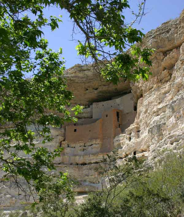 monetzuma castle sedona arizona