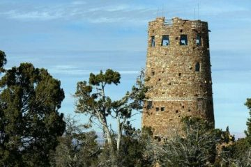 Desert View Watchtower Grand Canyon Arizona Mary Colter Architect