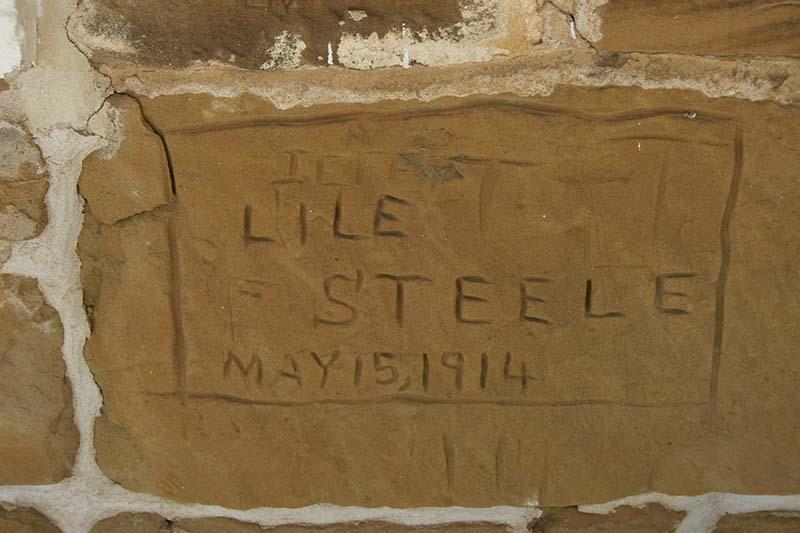 Fort Larned graffiti