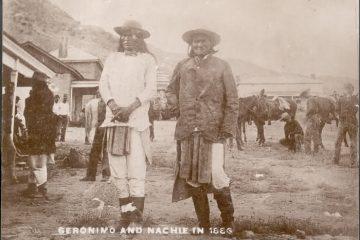Geronimo at Ft. Bowie Arizona History