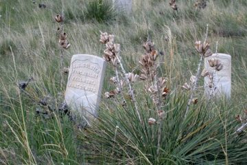 Last stand hill Little Big Horn Battlefield
