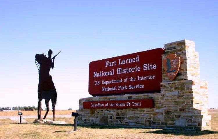 Fort Larned entrance